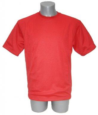 f13e6144 Rode snijwerende T-shirt JCC-KM Red Klipp-motstandsdyktig T-skjorte Jersey  ...