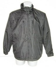 Black water repellent and cut resistant Cordura jacket VBR-Belgium