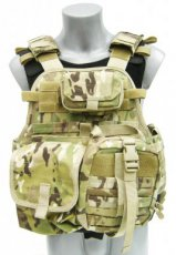 Survival Multicam Plate Carrier Operator NIJ4 Stand Alone Digi-EMT-Ammo Pouch (2017)